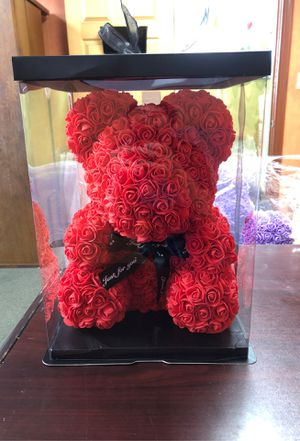 Rose teddy bear for Sale in Hacienda Heights, CA