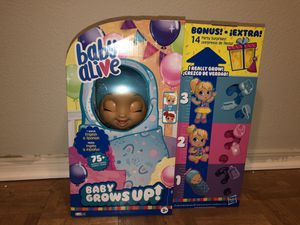 Brand new Baby Alive Grows up. Super hard to find!! for Sale in El Mirage, AZ