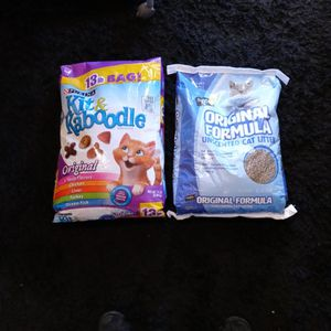 Kaboodle Cat Food +free Litter for Sale in Oakland, CA