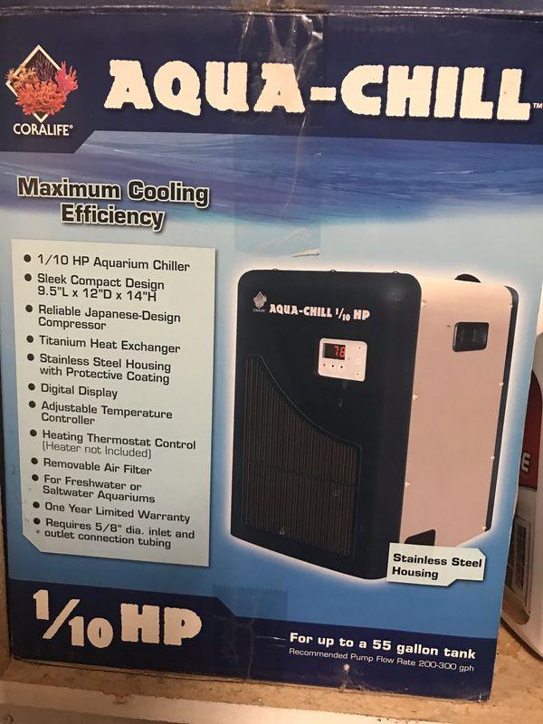 Fish Aquarium with water filter