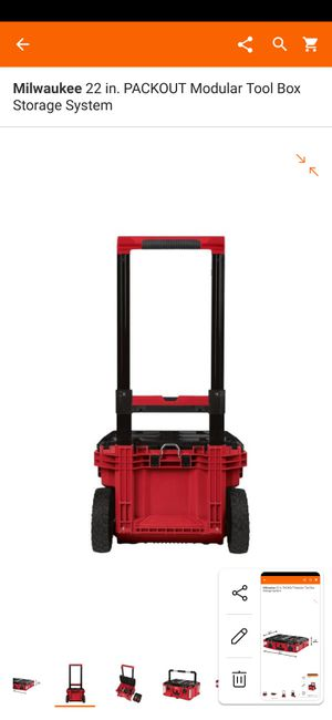 *BRAND NEW*MILWAUKEE 22 in. PACKOUT Modular Tool Box Storage System for Sale in Mount Prospect, IL
