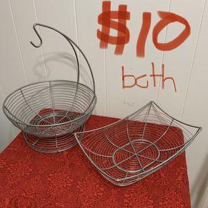 Fruit/veggie baskets for Sale in Bentonville, AR