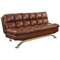 Wayfair Leather Sleeper sofa $250 free delivery for Sale in Irvine, CA
