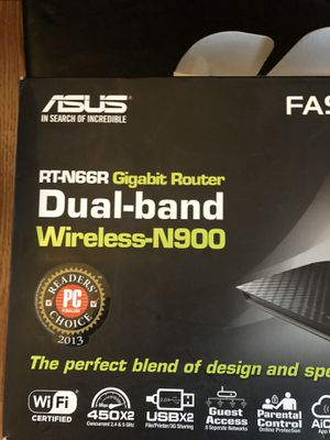 Asus Dual-Band router RT-N66R for Sale in Vancouver, WA