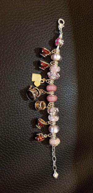 Pandora Tea Cup set Charm Bracelet for Sale in Glendale, AZ