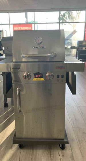 Brand New Stainless Steel Char-Broil BBQ Grill! 4XD for Sale in Georgetown, TX