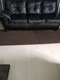 Leather sectional sofa end for Sale in Painesville,  OH