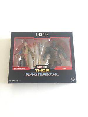 Marvel Legends Series Thor Ragnarok - The Grandmaster & Korg for Sale in Lutz, FL