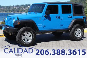 2011 Jeep Wrangler Unlimited for Sale in Burien, WA
