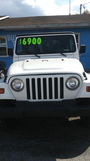 1998 Jeep Wrangler for Sale in Jacksonville, FL