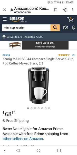 Keurig compact for Sale in Alvin, TX