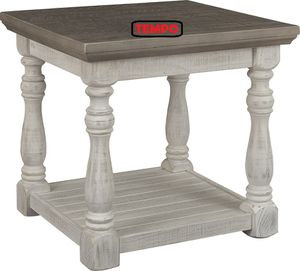 NEW IN THE BOX. HAVALANCE GRAY/WHITE END TABLE, SKU# T814-3TT for Sale in Garden Grove, CA