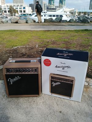 Fender Accoustasonic 15 Amplifier. Brand New! $65 Firm for Sale in San Diego, CA