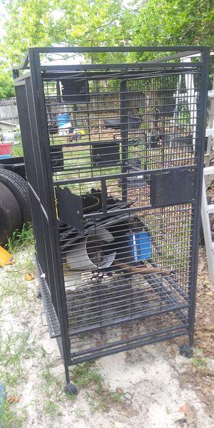 Heavy duty bird cage 5 ft by 40 in by 30 in for Sale in Casselberry, FL