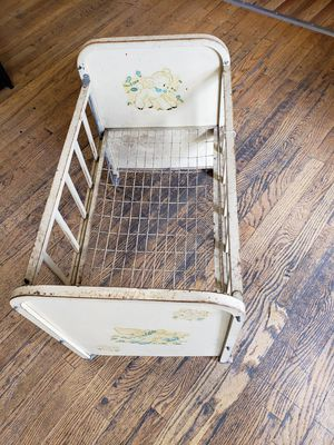 Antique Doll Crib for Sale in Lakewood, CO