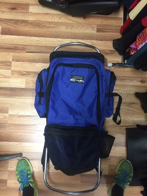 Camping/hiking backpack with external-frame for Sale in Hoboken, NJ