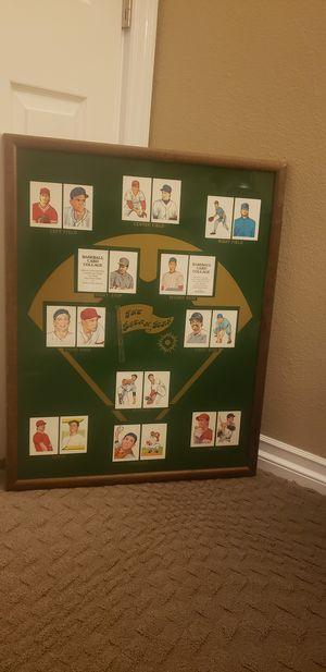 Vintage Baseball Card Display Frame for Sale in Santa Ana, CA