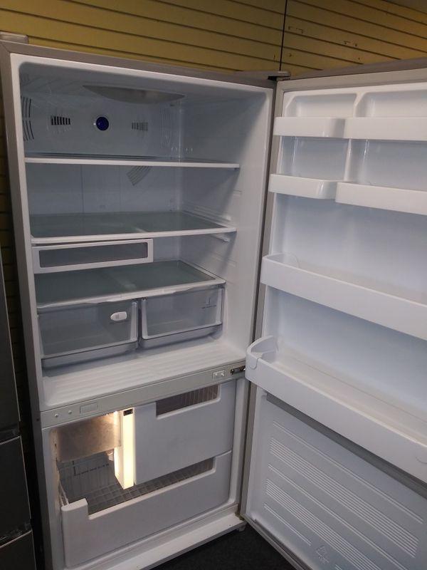 """Samsung 33""""wide bottom freezer refrigerator in exellent condition"""