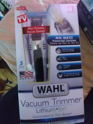 WAHL VACUUM TRIMMER (NEW: RETAL 70) for Sale in Los Angeles, CA