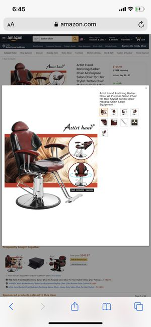 Barber Chair/ Tattoo Chair for Sale in Baton Rouge, LA