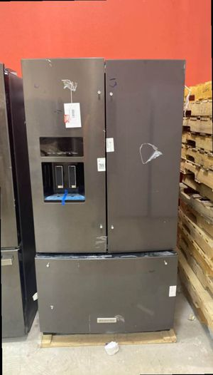 Kitchen aid KRFF507HBS refrigerator 🤯🤯🤯 HCU for Sale in San Antonio, TX