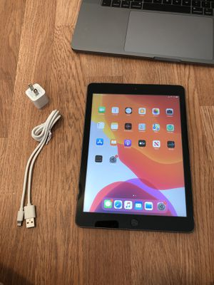 iPad 6, 32GB, WiFi + Cellular - includes charger. Excellent condition for Sale in Falls Church, VA