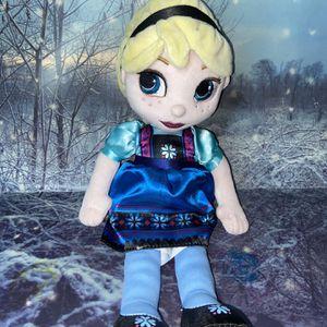 Disney Elsa Animator stuffed Plush Doll for Sale in Long Beach, CA