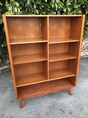 Mid Century Danish Bookcase by Denka . for Sale in Los Angeles, CA