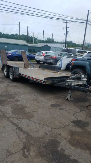 One car two axle trailer for Sale in Yardley, PA