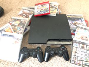 PS3 BUNDLE ( 2 Controllers over 20 games) for Sale in Rex, GA