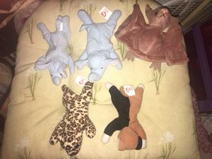Assorted Mini TY 90s Rare McDonalds Collectibles Toy BEANIE BABIES! for Sale in Ansonia, CT