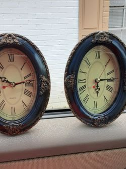 2 Vintage Hand Painted Clocks for Sale in Mobile,  AL