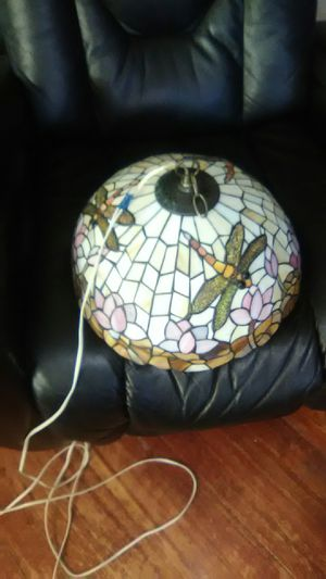 STAINED GLASS HANGING LAMP price reduction for Sale in Tacoma, WA