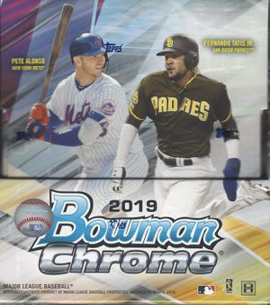 2019 Bowman Chrome Hobby Box for Sale in Kent, WA