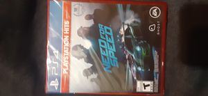 Need For Speed for PS4 for Sale in Oak Grove, MN