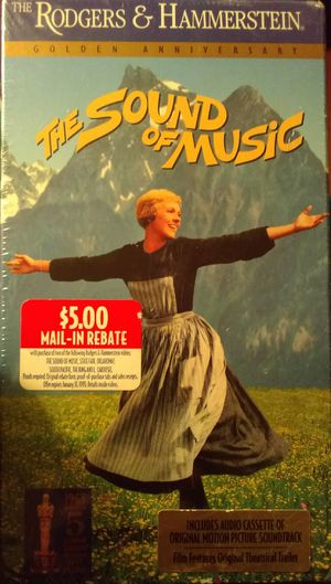 The Sound of Music VHS plus Cassette Soundtrack Sealed for Sale in Colorado Springs, CO