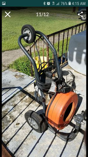SEWEROOTER brand commercial pipe cleaning snake for Sale in Inman, SC
