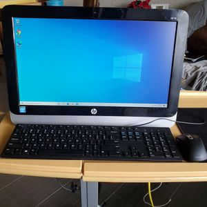 HP All-in-One 19 Desktop 19.6-inch for Sale in Phoenix, AZ