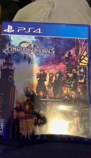 Kingdom Hearts PS4 like new used once for Sale in Pomona, CA