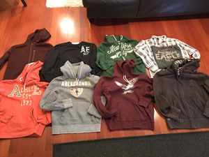 Nine Men's or teens shirts and sweatshirts for Sale in Pittsburgh, PA