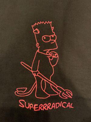 SupeRRRadical Bart Hellboy tee M for Sale in Hacienda Heights, CA