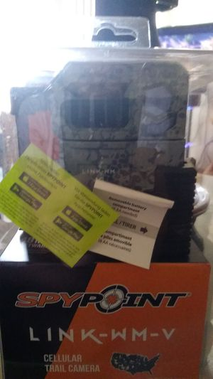 Spy point Link-wm-v cellular trail camera for Sale in Eau Claire, WI