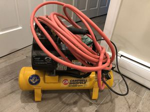 Construction Air Compressor and Hose for Sale in Seattle, WA