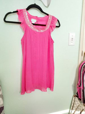 Hot pink dress size 7/8 for Sale in Rialto, CA