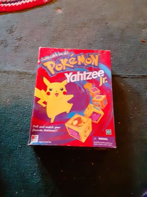 Vintage Pokemon Yatzee Board Game for Sale in Halifax, PA