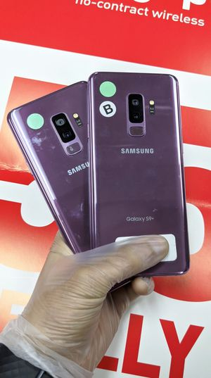 Samsung Galaxy S9 Plus 64gb Factory Unlocked, Like New! OPEN (11:30AM-6PM) for Sale in Arlington, TX