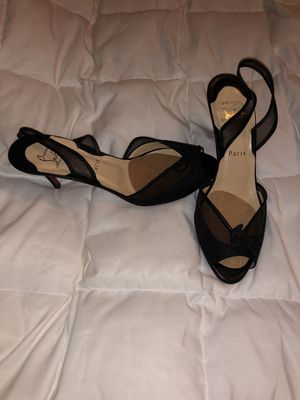 Christian Louboutin 38.5 lace heels for Sale in Nashville, TN