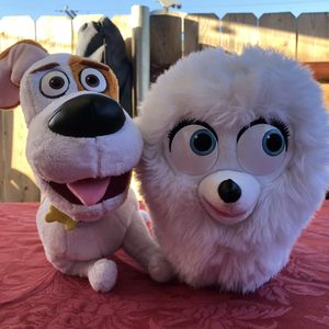 Secret Life of Pets Stuffed Animals for Sale in Lincoln Acres, CA
