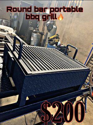 Heavy duty round bar bbq grill 🔥🔥🔥🔥 for Sale in Visalia, CA