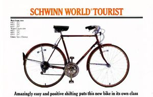 1980s Schwinn World Tourist Vintage Bike for Sale in Artesia, CA